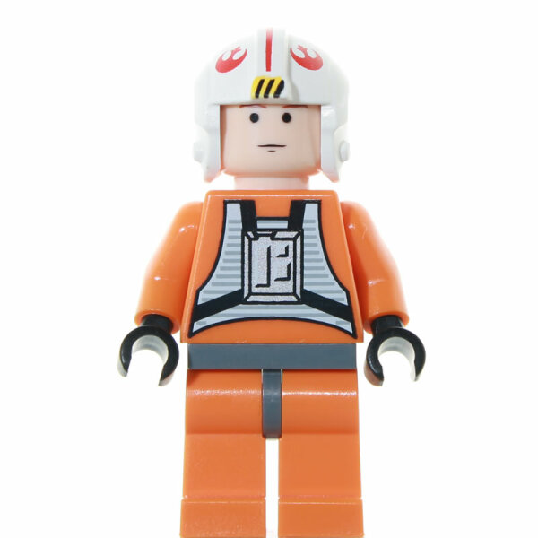 LEGO Star Wars Minifigur - Luke Skywalker Pilot (2006)