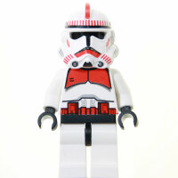 LEGO Star Wars Minifigur - Clone Trooper, rot (2007)