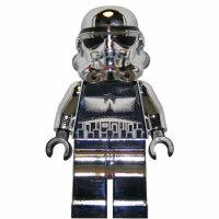 LEGO Star Wars Minifigur - Stormtrooper, chrom (2009)...