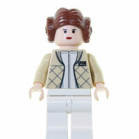 LEGO Star Wars Minifigur - Princess Leia, Hoth (2003)