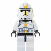 LEGO Star Wars Minifigur - Clone Trooper, gelb (2005)