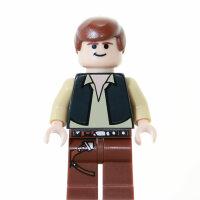 LEGO Star Wars Minifigur - Han Solo, Episode 5 (2007)