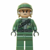 LEGO Star Wars Minifigur - Endor Rebel Commando Frown (2009)