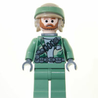 LEGO Star Wars Minifigur - Endor Rebel Commando Beard (2009)