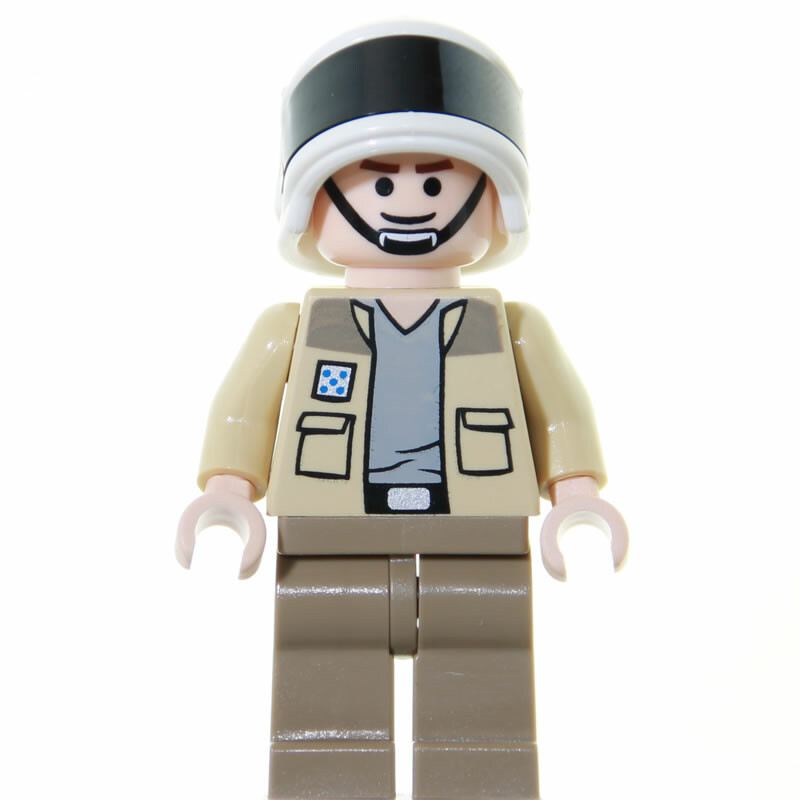 Lego Star Wars Minifigur Captain Antilles 2009 Minifigurencom