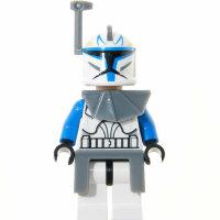 LEGO Star Wars Minifigur - Clone Captain Rex, Helmantenne...