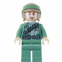LEGO Star Wars Minifigur - Endor Rebel Commando Stubble...