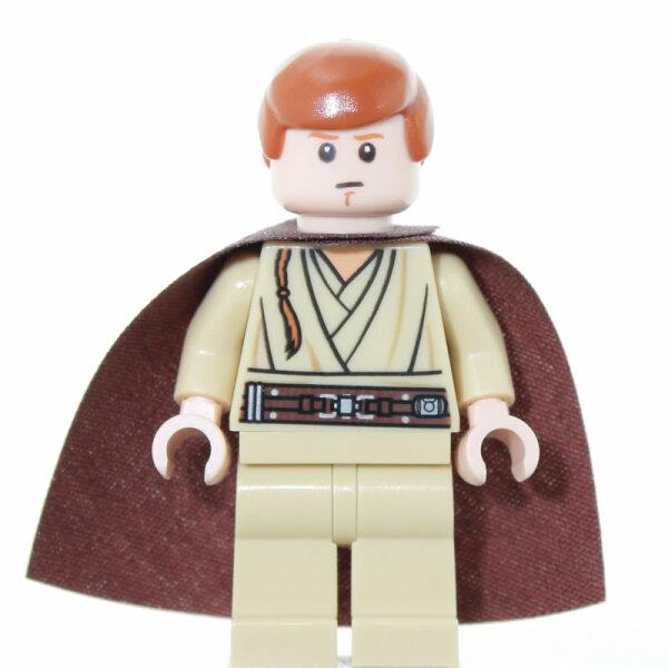 Clone Wars LEGO Star Wars Minifigur : OBI WAN KENOBI mit Lichtschwert neuw.