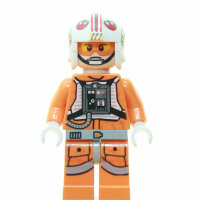 LEGO Star Wars Minifigur - Luke Skywalker, Pilot (2013)