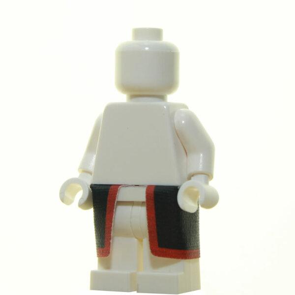 Clone Trooper Beinpanzer, schwarz/dunkelrot