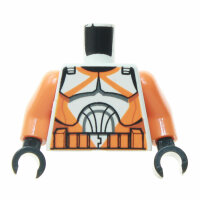 Clone Trooper Torso, orange, orange Arme