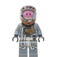 LEGO Star Wars Minifigur - Gray Squadron Pilot (2014)