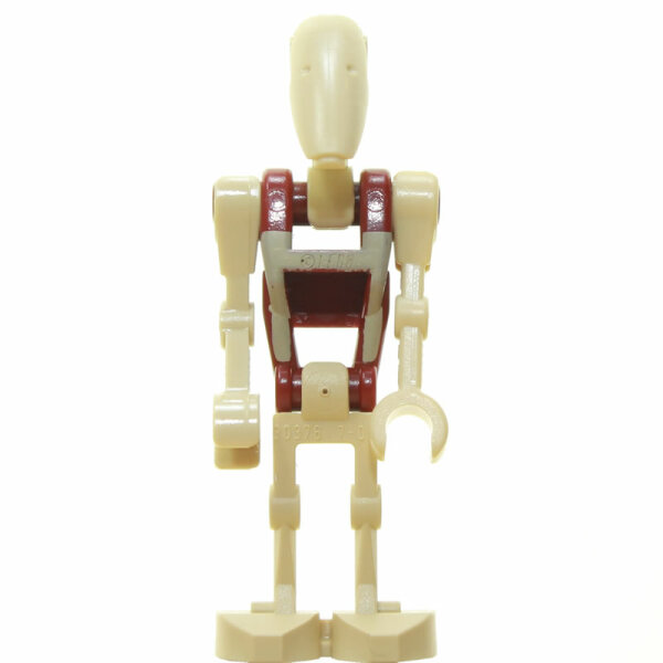 LEGO Star Wars Minifigur - Battle Droid Security, 1 Arm gerade (2014)