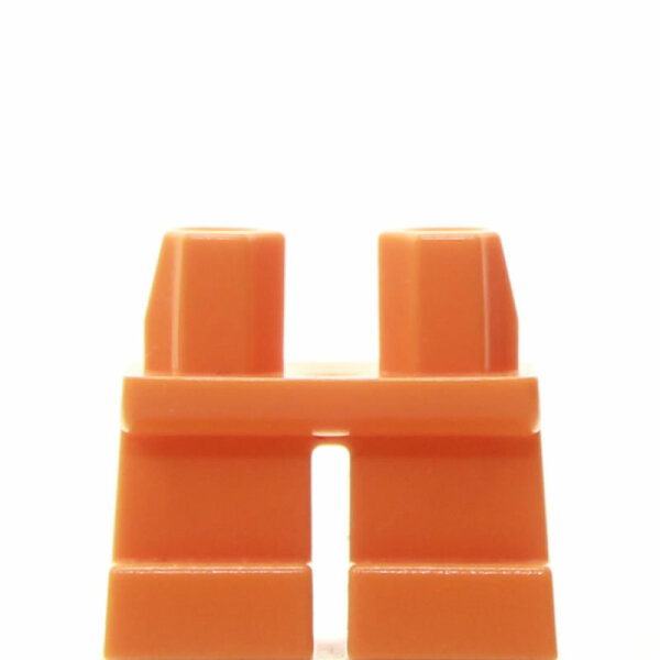 LEGO Kurze Beine plain, orange