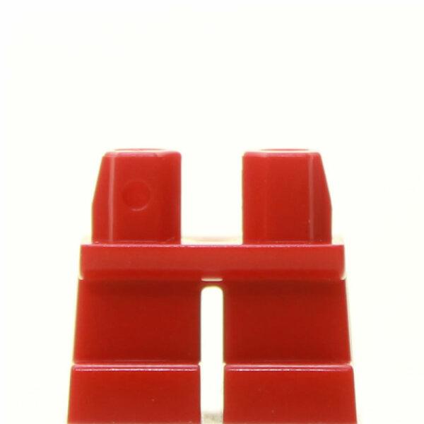 LEGO Kurze Beine plain, rot