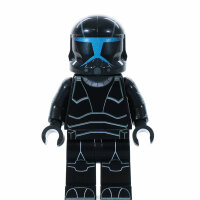 Custom Minifigur - Clone Trooper Commando Shadow