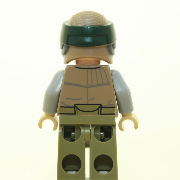 LEGO Star Wars Minifigur - Endor Rebel Trooper mit Bart (2015)