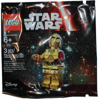 LEGO Star Wars Minifigur - C-3PO, roter Arm (2015)...