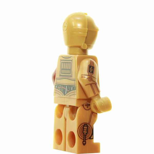 LEGO Star Wars Minifigur - C-3PO, roter Arm (2015)