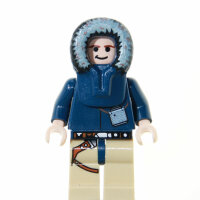 LEGO Star Wars Minifigur - Han Solo (Hoth), Kapuze (2009)