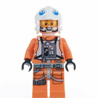 LEGO Star Wars Minifigur - Rebel Pilot - Zin Evalon (2016)