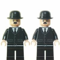Custom Minifigur - Tim & Struppi - Schulze & Schulze