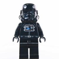 LEGO Star Wars Minifigur - TIE Fighter Pilo, brauner Kopf...