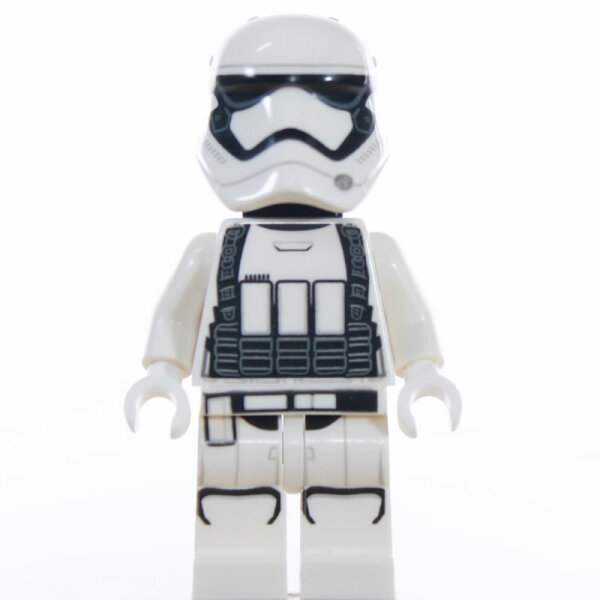 LEGO Star Wars Minifigur - First Order Stormtrooper, Heavy (2017), Backpack