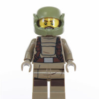 LEGO Star Wars Minifigur - Resistance Trooper, Bart (2017)