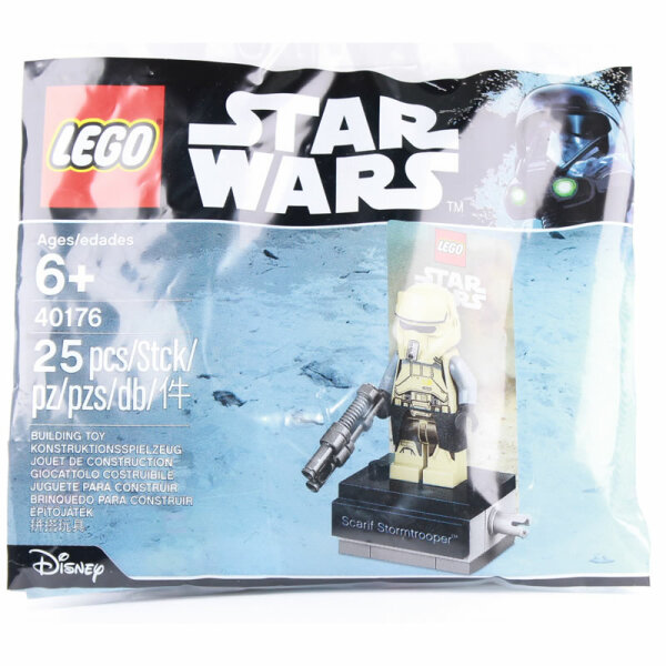 LEGO Star Wars Minifigur - Scarif Stormtrooper Leader (2017) Original im Polybag