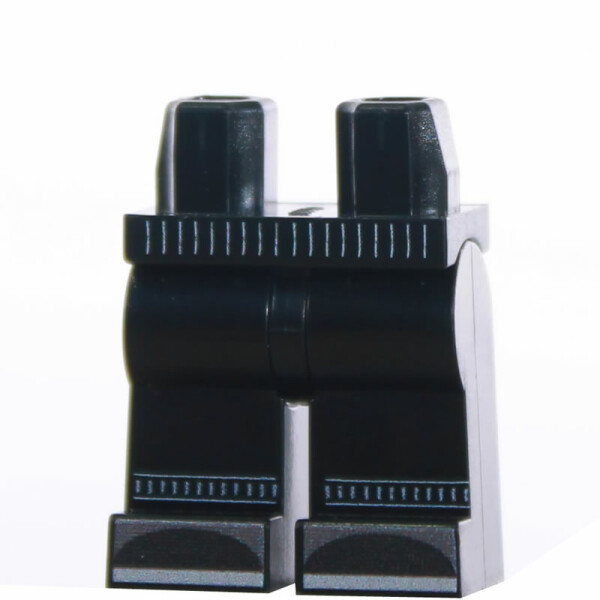 Custom Beine, schwarze Jogginghose