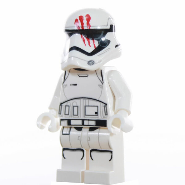 Custom Minifigur - First Order Stormtrooper, Blut am Helm