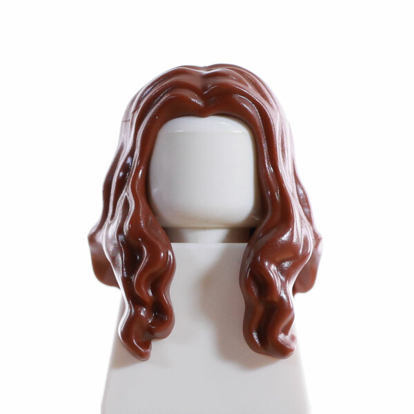 Haare, weiblich, lang, offen, hellbraun