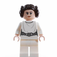 LEGO Star Wars Minifigur - Princess Leia, White Dress (2019)