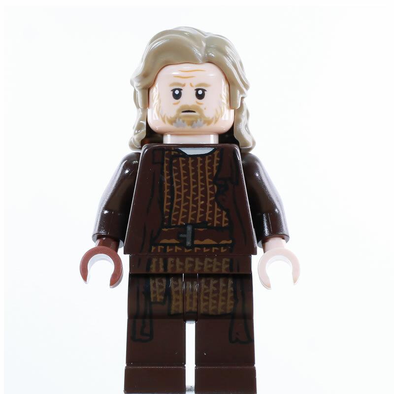 schwarzer Griff für Minifiguren Star Wars 4 blaue Lego Laserschwerter