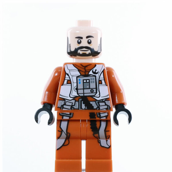 LEGO Star Wars Minifigur - Resistance X-Wing Pilot Temmin Snap Wexley (2019)