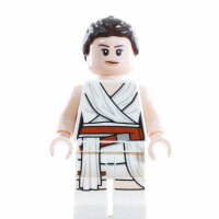 LEGO Star Wars Minifigur - Rey, weiße Robe (2019)