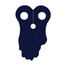 Custom Umhang für Minifigur, zerfetzt, dunkelblau