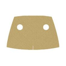 Custom Trenchcoat kurz für Minifigur, sand