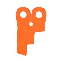 Custom Umhang für Minifigur, Valküre, orange