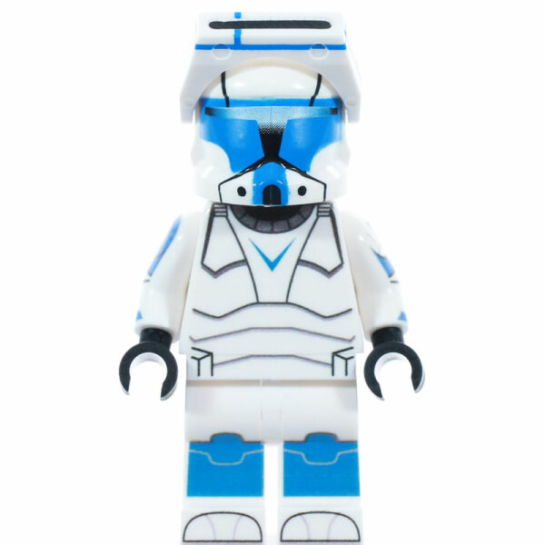 Custom Minifigur - Clone Trooper Commando Hope, blau