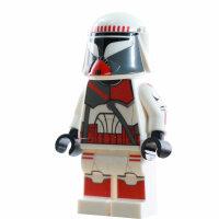 Custom Minifigur - Clone Trooper Heavy Phase 1, Shock