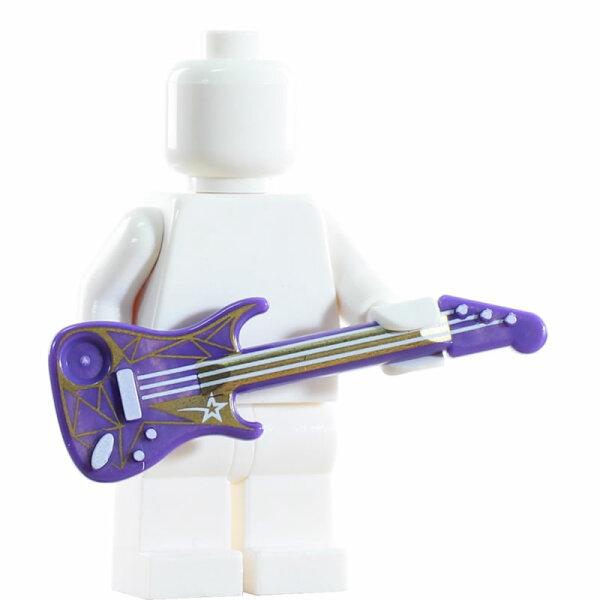 LEGO E-Gitarre, lila