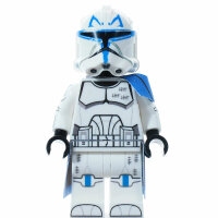 Custom Minifigur - Clone Captain Rex, realistic Helmet